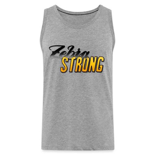 Zebra Strong - Männer Premium Tank Top
