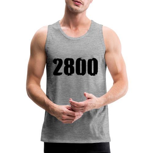 2800 - Mannen Premium tank top