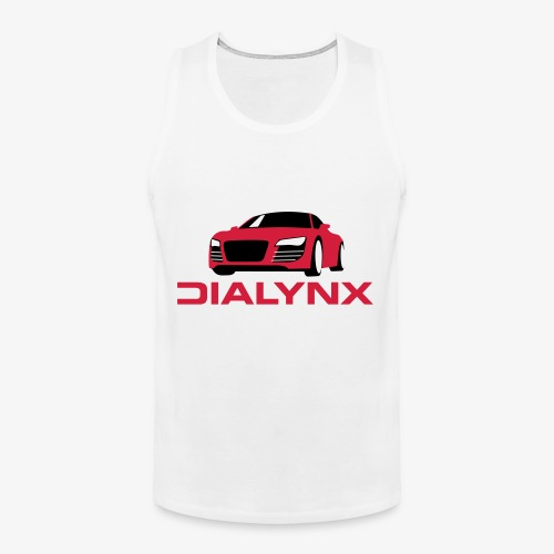 Dialynx Logo - Men's Premium Tank Top