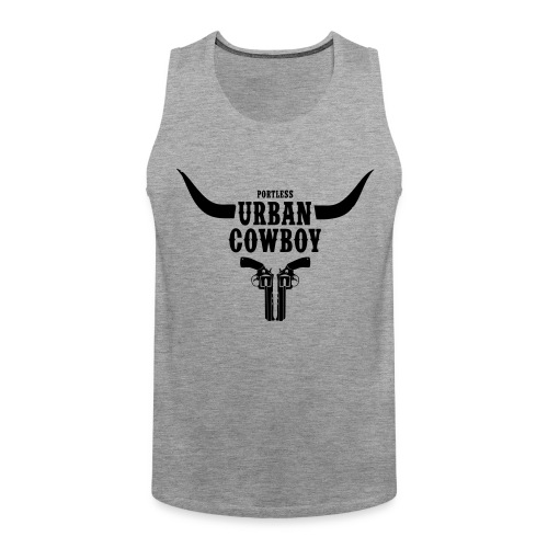 Portless Urban Cowboy - Männer Premium Tank Top