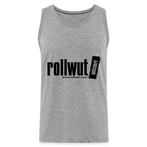 Rollwut Logo - Männer Premium Tank Top