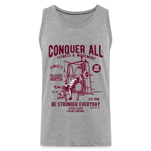 Conquer All2 - Débardeur Premium Homme