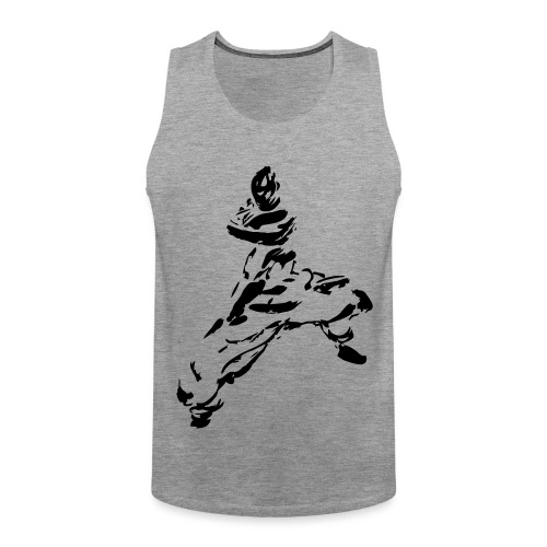 kungfu - Men's Premium Tank Top