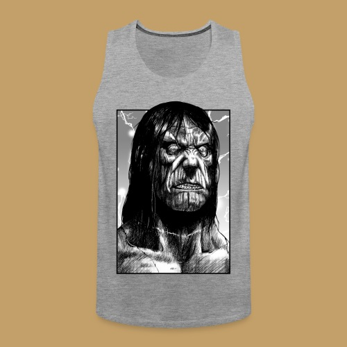 Frankenstein's Monster - Tank top męski Premium