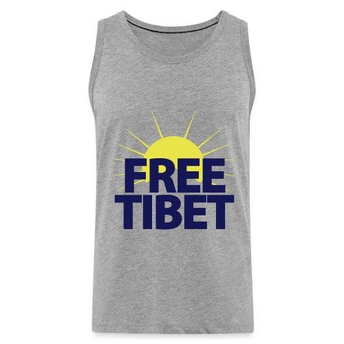 Free-Tibet Team Tibet - Männer Premium Tank Top
