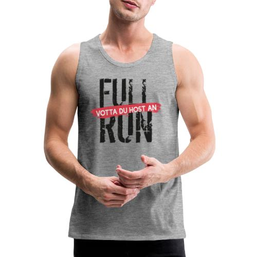 Full Run - Männer Premium Tank Top