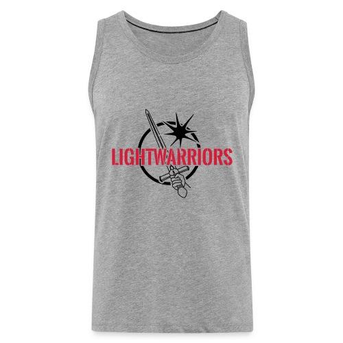 Lightwarriors Logo - Männer Premium Tank Top