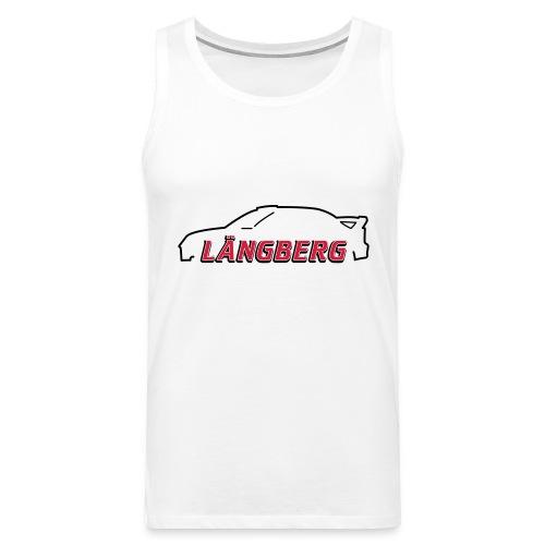 logotype Laengberg - Premiumtanktopp herr