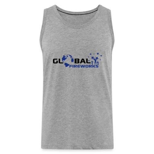Global Fireworks - Männer Premium Tank Top