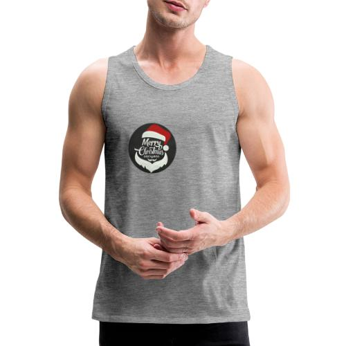Merry Christmas - Men's Premium Tank Top