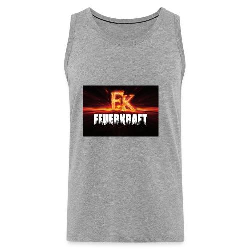 FK Flammen Schriftzug - Männer Premium Tank Top