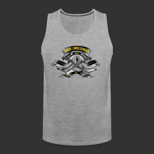 screaming pistons - Mannen Premium tank top