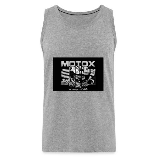 Motox a way of life - Mannen Premium tank top