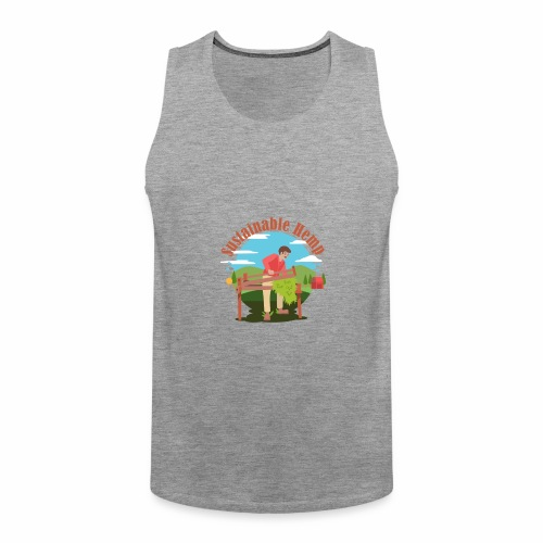 Cáñamo Sustentable en Inglés (Sustainable Hemp) - Tank top premium hombre