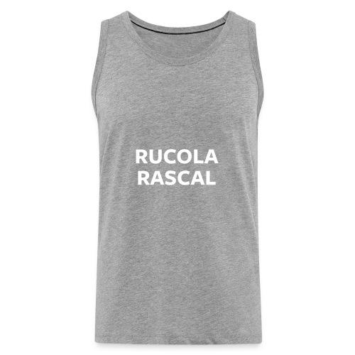 Rucola Rascal Night Mode - Men's Premium Tank Top
