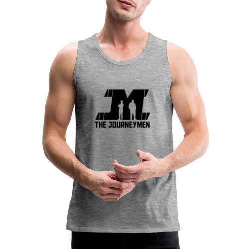 Black JourneyMen Logo - Men's Premium Tank Top