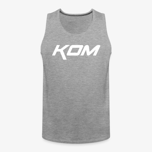 king of the mountain mtb - Men's Premium Tank Top