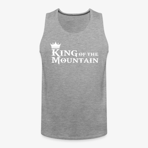 mtb king of the mountain - Men's Premium Tank Top