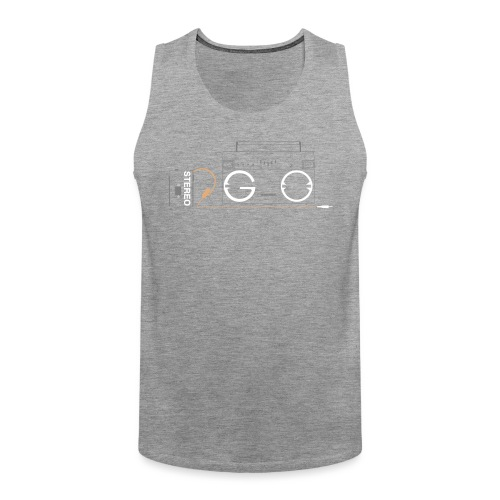 Design S2G new logo - Men's Premium Tank Top