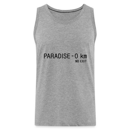 paradise0km - Männer Premium Tank Top