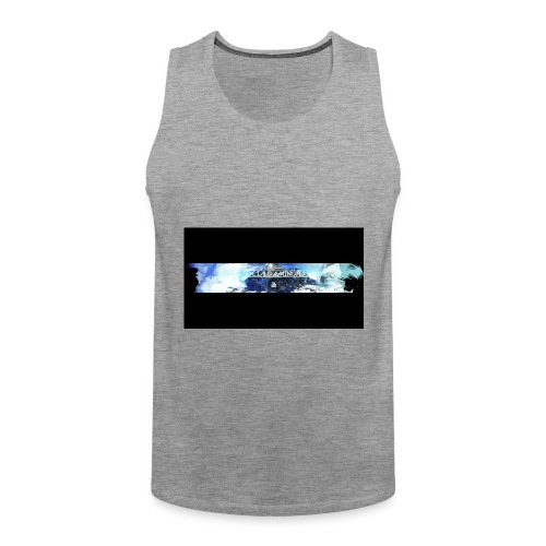 Limited Edition Banner Merch - Men's Premium Tank Top