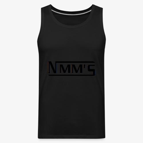logo black - Tank top premium hombre
