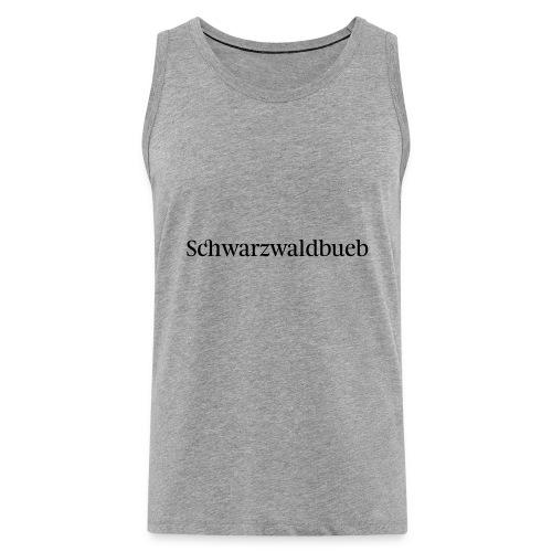 Schwarwaldbueb - T-Shirt - Männer Premium Tank Top