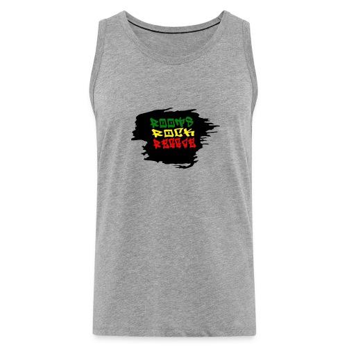 roots rock reggae - Débardeur Premium Homme