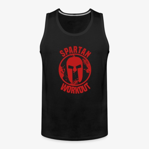 Spartan Workout - Men's Premium Tank Top