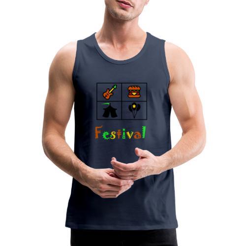 Festival Saison - Männer Premium Tank Top