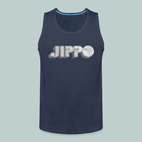 Retro JIPPO logo - Miesten premium hihaton paita