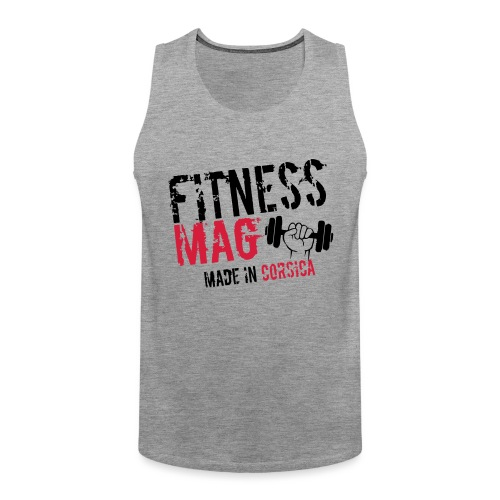 Fitness Mag made in corsica 100% Polyester - Débardeur Premium Homme