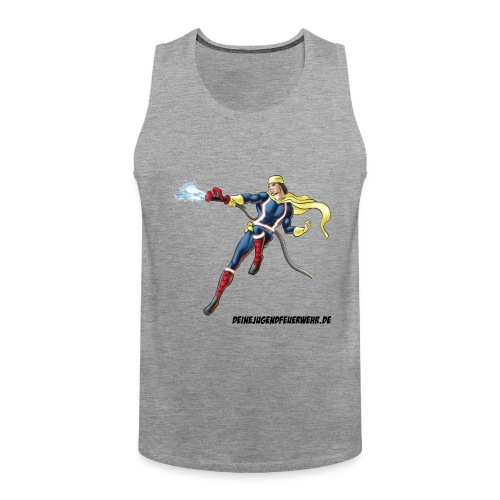 Captain Firefighter - Männer Premium Tank Top
