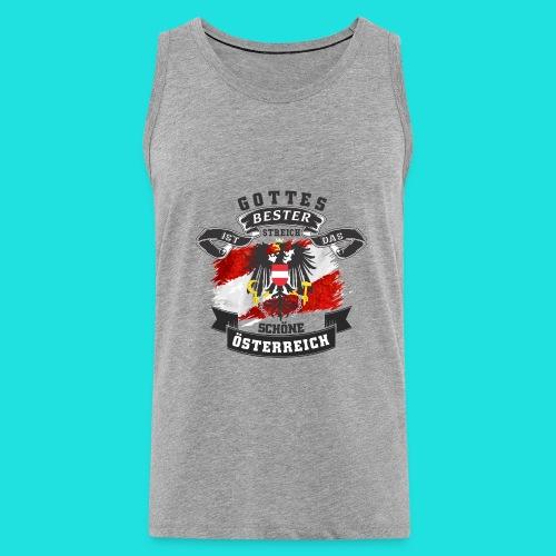 Austria shirt - Männer Premium Tank Top