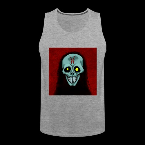 Ghost skull - Men's Premium Tank Top