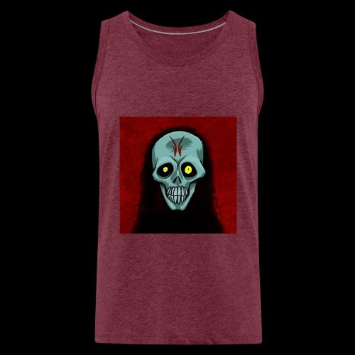 Ghost skull - Men's Premium Tank Top