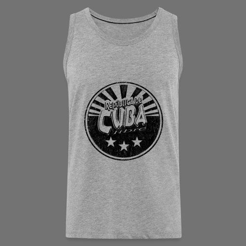 Cuba Libre (1c black) - Männer Premium Tank Top