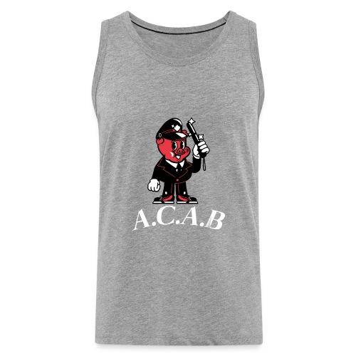 A.C.A.B - Débardeur Premium Homme