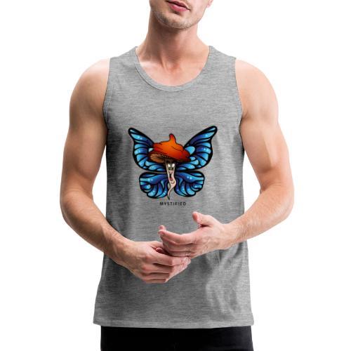 Mystified Butterfly - Mannen Premium tank top