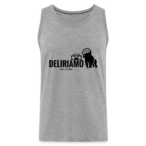 DELIRIAMO CLOTHING (GdM01) - Canotta premium da uomo
