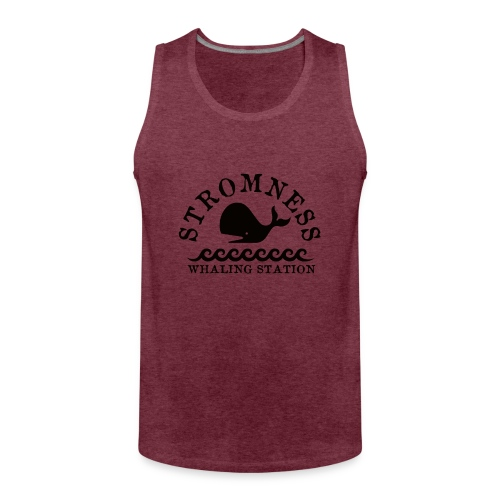 Sromness Whaling Station - Men's Premium Tank Top