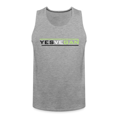 YESVEGAN - Männer Premium Tank Top