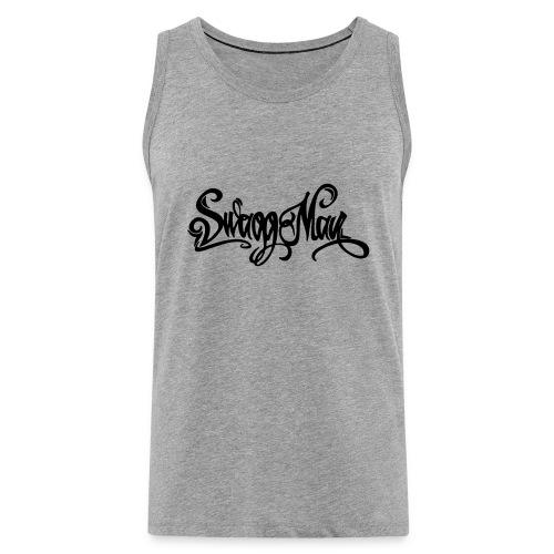 Swagg Man logo - Débardeur Premium Homme