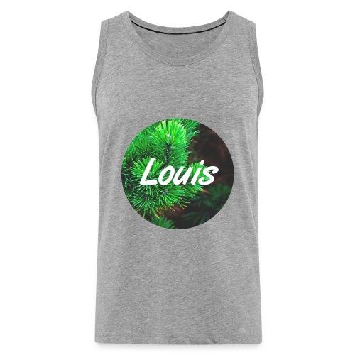 Louis round-logo - Männer Premium Tank Top