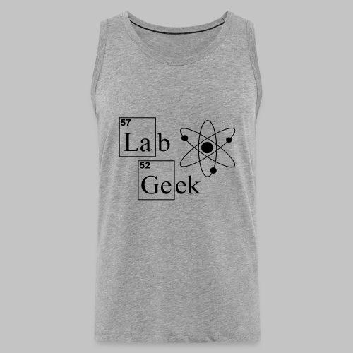 Lab Geek Atom - Men's Premium Tank Top