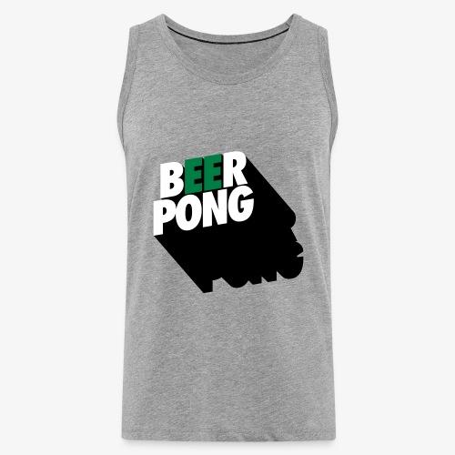 Beer Pong Vista - Männer Premium Tank Top