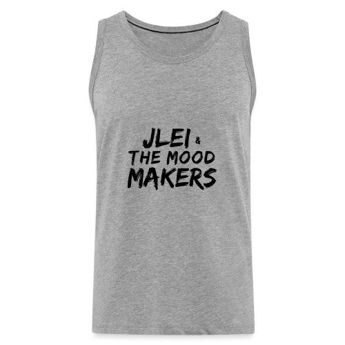 Jlei & The Mood Makers Schriftzug - Männer Premium Tank Top