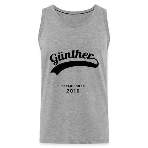 Günther Original - Männer Premium Tank Top