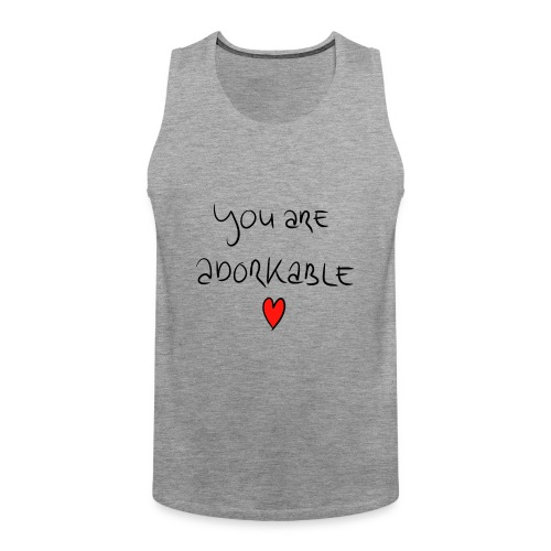 adorkable - Men's Premium Tank Top
