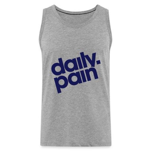 daily pain classic - Tank top męski Premium